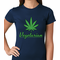 Pot Leaf Vegetarian Women's T-Shirt