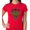 Rasta Pot Leaf Diamond Women's T-Shirt