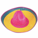 Multicolored Mexican Sombrero Cinco De Mayo