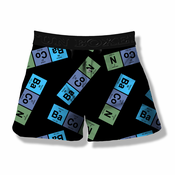 BaCoN Periodic Time Table Element Boxer Shorts