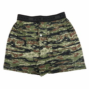 Green Woodland Camo Boxer Shorts