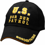 US Border Patrol Baseball Hat (Black)