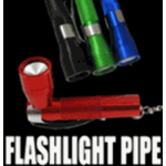 Secret Flashlight Keychain Pipe