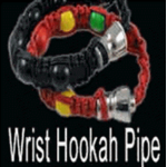 Braided Hemp Hooka Pipe Bracelet