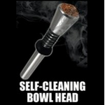 Titanium Self-Cleaning Bowl Head