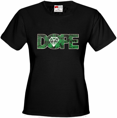 Pot Leaf Dope Diamond Women's T-Shirt