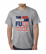 Red, White & F*ck You Men's T-shirt