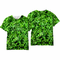 St. Patrick's Day Shamrocks All Over Sublimation Print Men's T-Shirt