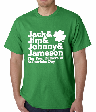 The Four Fathers of St. Patrick's Day T-Shirt