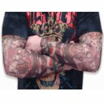 Tattoo Sleeves - Classic Vintage Street Tattoo Sleeves (Pair)