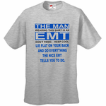 This Man is a Nice EMT Men's T-Shirt