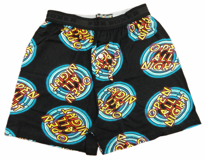 Open All Night Boxer Shorts