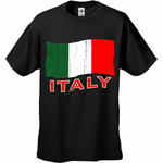 Italy Vintage Flag Men's T-Shirt