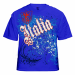 International T-Shirts - Italia Gothic Crest T-Shirt
