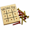 Wooden Tic Tace Tow Peg Game (One Dozen)