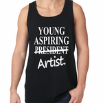 Aspiring Artist President Crossed Out Tank Top