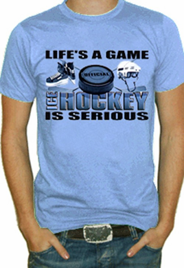 Ice Hockey Is Serious T-Shirt