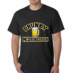 Drunky McDrunkerson Funny Men's T-shirt