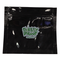"""Smelly Proof Bags - 10 Pack of Small 6"""" x 4"""" Black Bags"""