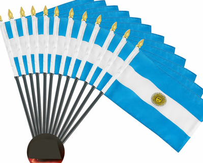 4x6 Inch Argentina Flag (12 Pack)