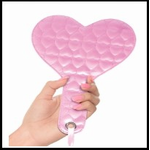 Pink Fantasy Quilted Heart Paddle