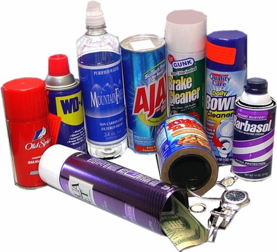 Assorted Real Product Diversion Safes