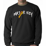 Major Key To Success Emoji Key Crewneck