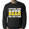 Titties & Beer That's Why I'm Here Crewneck