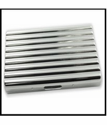Deep Ridge Cigarette Case (For Regular Size & 100's)