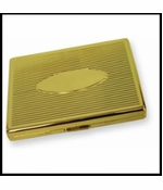 Classic Gold Cigarette Case (For Regular Size & 100's)