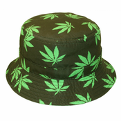 Soft Cotton Bucket Hat (Pot Leaf)