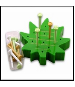 Leaf Logic Peg Jumping Game