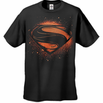 Superman Man of Steel Super Spray T-Shirt