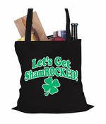 Let's Get ShamROCKED Irish Tote Bag