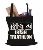 Irish Triathlon St. Patrick's Day Tote Bag
