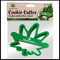 Stonerware Brand Pot Leaf Cookie Cutter :: Makes Pot leaf Shaped Cookies