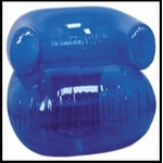 """36"""" Inflatable Blow up Chair (Blue)"""