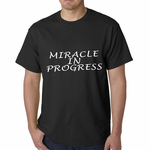 Miracle In Progress Men's T-shirt