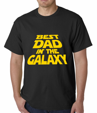 Best Dad in The Galaxy Men's T-shirt