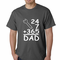 24+7+365 = Dad Father's Day Men's T-shirt