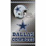 Dallas Cowboys Diamond Plate Towel (30 x 60)