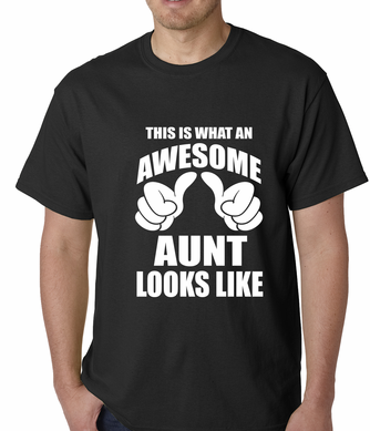 This Is What An Awesome Aunt Looks Like Men's T-shirt