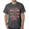 Stay At Home Mom Full Time Ninja T-shirt