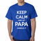 Keep Calm and Let Papa Handle It Men's T-Shirt