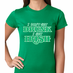I Don't Get Drunk, I Get Irish Women's T-shirt