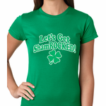 Let's Get ShamROCKED Irish Women's T-shirt