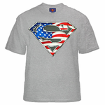 Superman All American Shield Logo T-Shirt