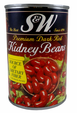 S&W Kidney Beans Diversion Safe Can