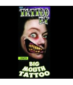 Temporary Face Tattoos - Two Faced