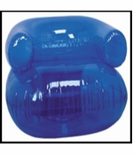 "36"" Inflatable Blow up Chair (Blue)"
